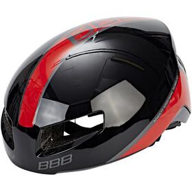 BBB Tithon BHE-08 Cykelhjelm rød/sort
